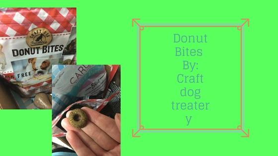 Donut Bites By- Craft dog treatery