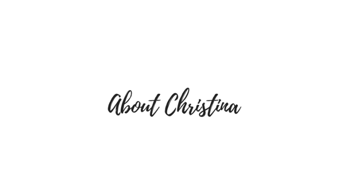 About Christina