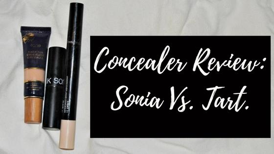 Concealer Review: Sonia Vs.Tart.