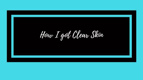 How I got ClearSkin